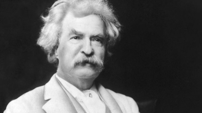 Mark Twain writing tips