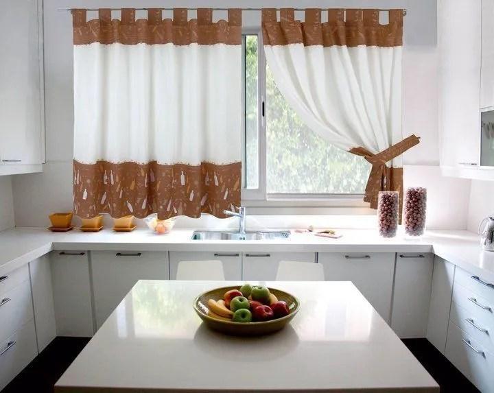 Fotos de cortinas para la cocina 2019  Diseos y consejos