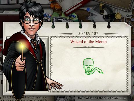 Harry Potter - Mago del Mes Octubre