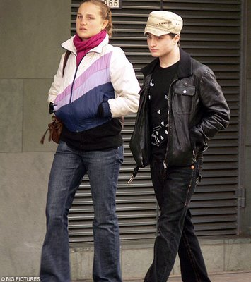 Laura O'Toole y Daniel Radcliffe