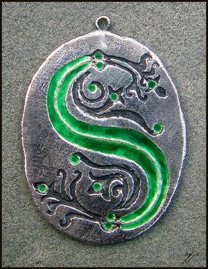Guardapelo de Slytherin