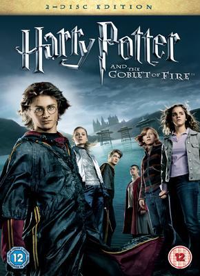 DVD Harry Potter y el Caliz de Fuego