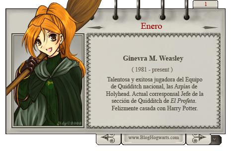 Mago del Mes Ginny
