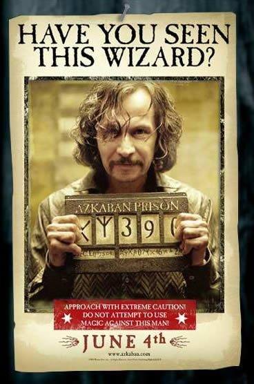 Poster Harry Potter y el Prisionero de Azkaban