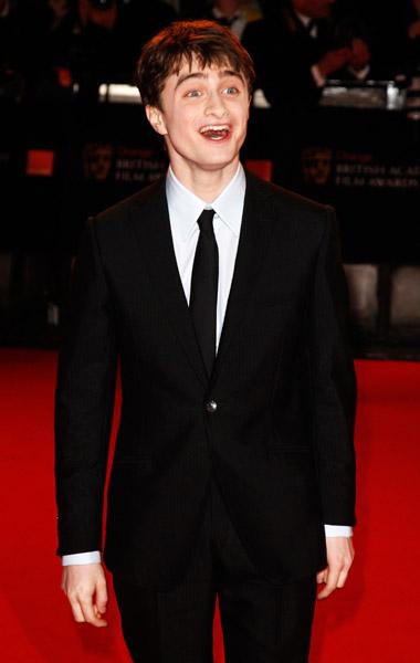Daniel Radcliffe asiste a los Premios BAFTA 2008