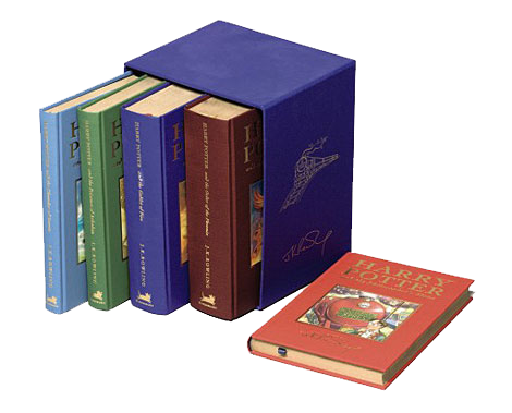 Subasta libros Harry Potter