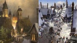 Parque de Harry Potter: Casa de los Gritos, Dementores, Mortífagos, Dos Islas, y Más!