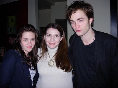 BlogHogwgarts - Sthepenie Meyer, Kristen Stewart, y Robert Pattinson