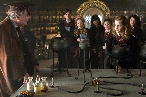 Slughorn y Hermione