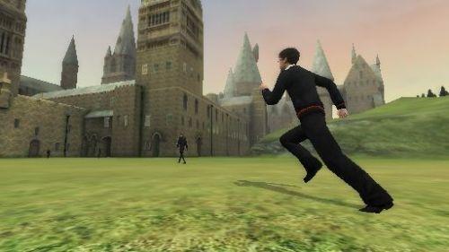 Harry corriendo