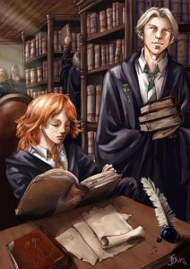 in_the_hogwarts_library_by_gold_seven