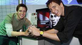 James y Oliver Phelps asisten a la 'Games Convention 2008'