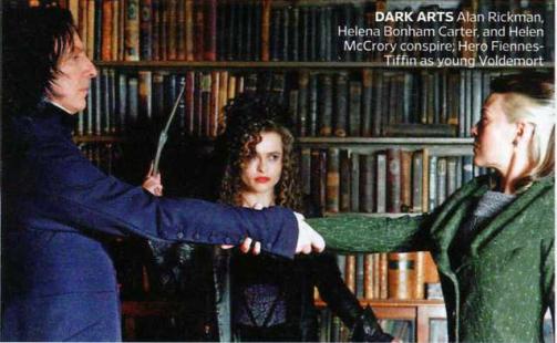 Snape, Bellatrix y Narcisa