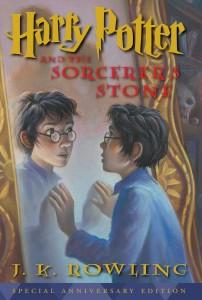 Portada Harry Potter y la Piedra Filosofal Edición Aniversario