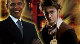 Candidato Barack Obama Confirma de Nuevo que es un Gran Fanático de Harry Potter