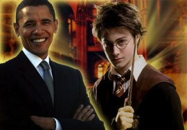Barack Obama y Harry Potter