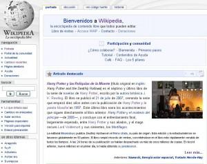 Wikipedia Harry Potter