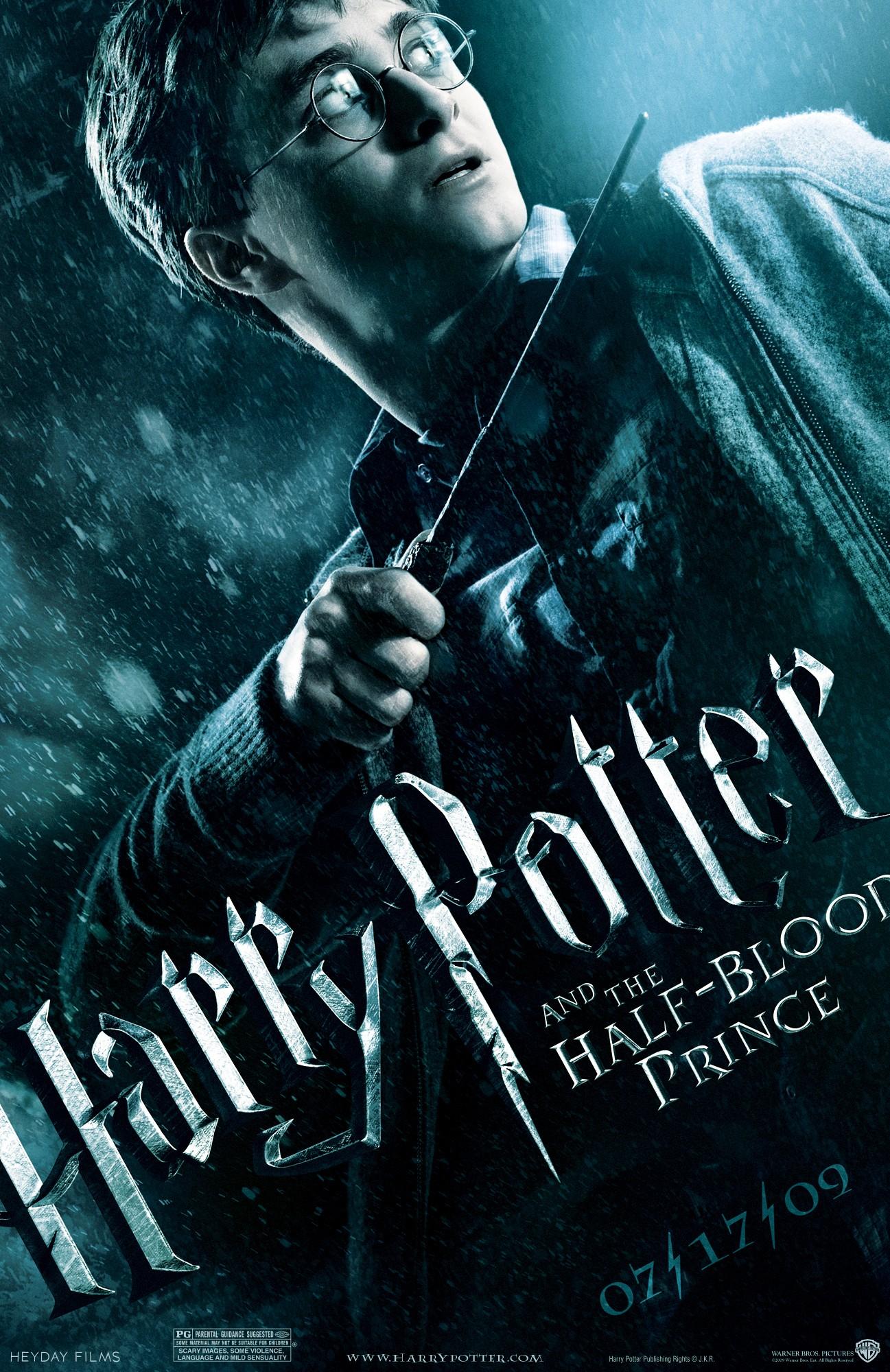Resultado de imagen de harry potter y el misterio del príncipe poster