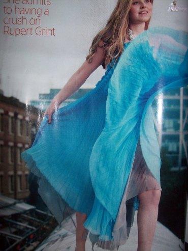 Jessie Cave en Tatler Magazine