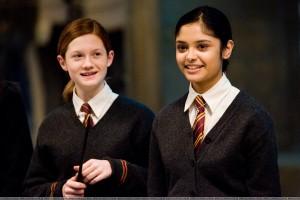 Ginny Weasley y Parvati Patil