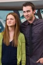 Bonnie Wright y Matt Lewis