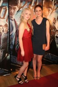Bonnie Wright y Evanna Lynch