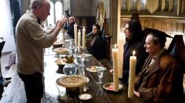 Dos Imágenes Detrás de Escenas de 'Harry Potter y el Misterio del Príncipe'