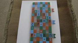 Coleccionable: Programa y Entrada de la Final Mundial de Quidditch