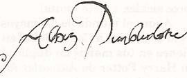Libros Anexos de Harry Potter 2/24: 'Prólogo de Albus Dumbledore'