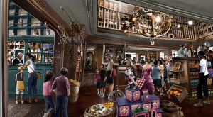 Dervish y Banges - Tienda del Parque Temático de Harry Potter