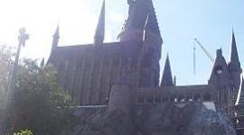Retirados Andamios y Grúas del Castillo de Hogwarts en el Parque de 'Harry Potter'