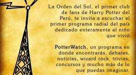 'Potter Watch' Radio Pottérica desde Perú