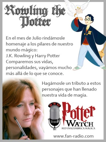 Hoy Potter Watch: 'Rowling the Potter'