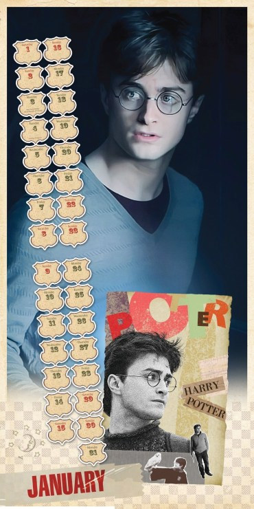 Nuevas Imágenes de 'Las Reliquias' en los Calendarios Oficiales de 'Harry Potter' para 2011