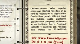 "Hoy PotterWatch: ""El Scrapbook de Rowling"""