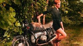Fotografía de Emma Watson para People Tree Primavera/Verano 2011