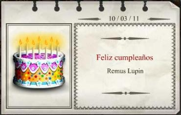 Feliz Cumpleaños, Remus Lupin!
