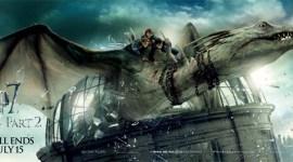 Nuevo Banner de 'Las Reliquias II 'con Harry, Ron y Hermione Volando sobre el Dragón!