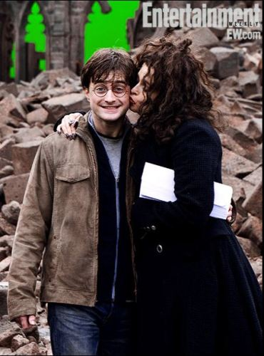 'Entertainment Weekly' Revela Fotos Detrás-De-Cámaras de la Saga de 'Harry Potter'