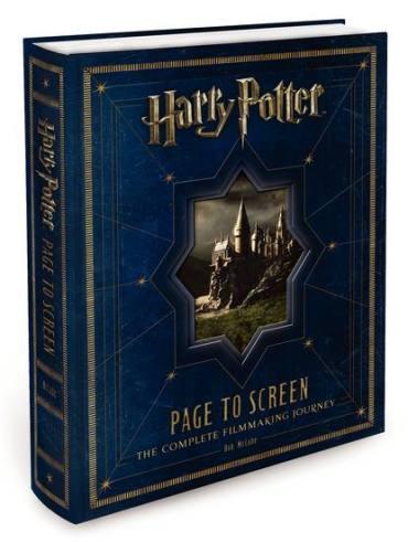 Revelada Portada Final y Nuevos Detalles del Próximo Libro 'Harry Potter Page to Screen'