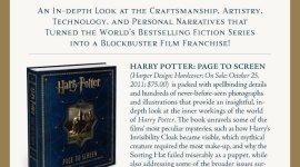 Nuevo Banner Promocional del Próximo Libro 'Harry Potter Page to Screen'