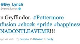 Evanna Lynch es Gryffindor en Pottermore