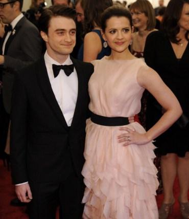 Daniel Radcliffe, Gary Oldman, y Helen McCrory Asisten al Evento 'Met Ball 2012'