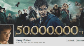 Harry Potter Consigue 50 Millones de Fans en Facebook