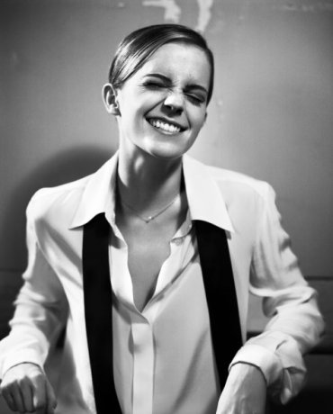 Fotografías de Emma Watson para la revista Glamour