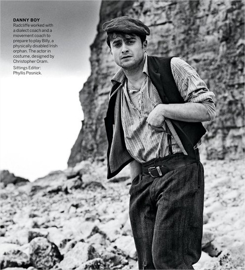 Harry Potter BlogHogwarts Daniel Radcliffe The Cripple of Inishmaan