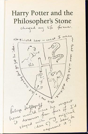 Harry Potter BlogHogwarts JKR Subasta (2)