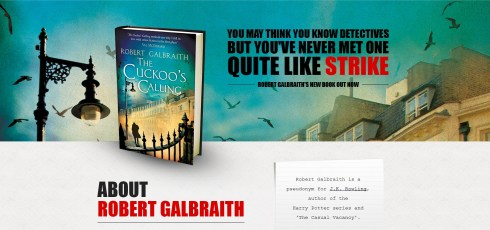 Harry Potter BlogHogwarts Robert Galbraith 2
