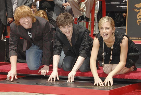Harry Potter BlogHogwarts Hall de la Fama Daniel Radcliffe