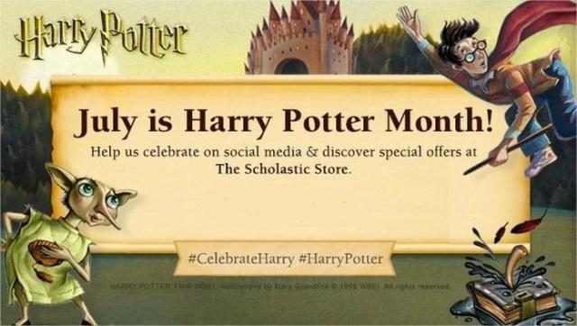 Harry Potter BlogHogwarts Scholastic Julio